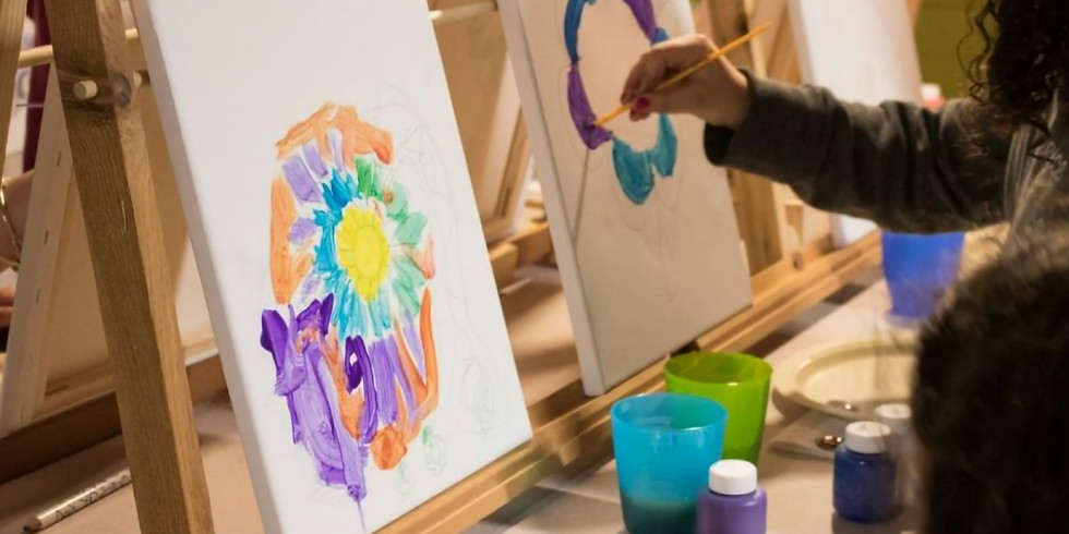 Kid's Art Hour: Painting on Canvas