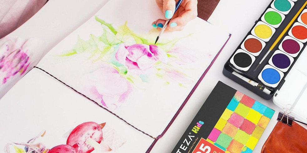 Kid's Art Hour: Painting with Watercolors