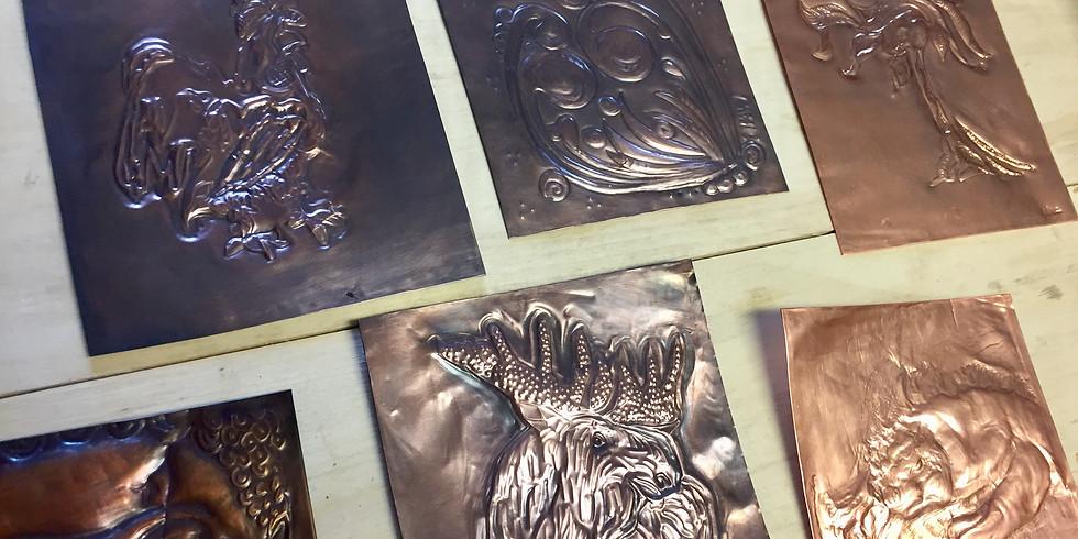 Copper relief