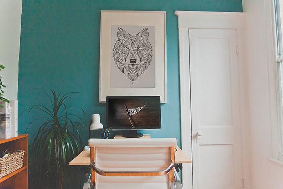 Wolf Mandala