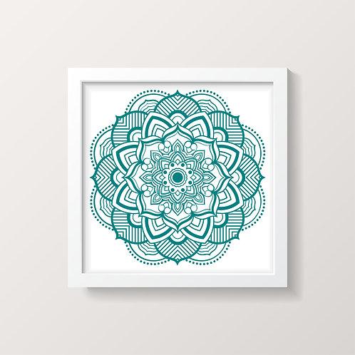 Framed Mandala 5