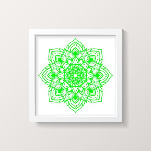 Framed Mandala 1