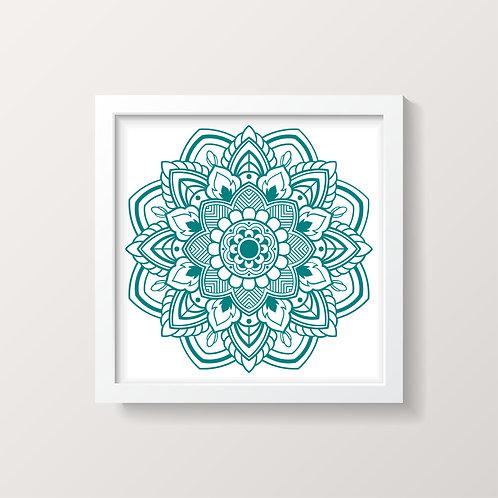 Framed Mandala 4