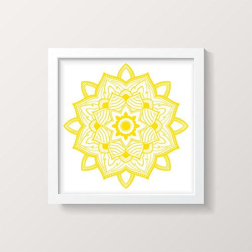 Framed Mandala 2