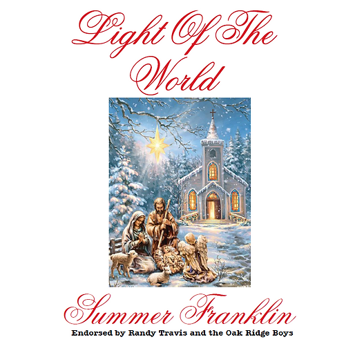 "Autographed ""Light of the World"" Single CD (physical)"