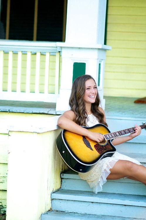 Summer Franklin 8x10 Photo (Porch)