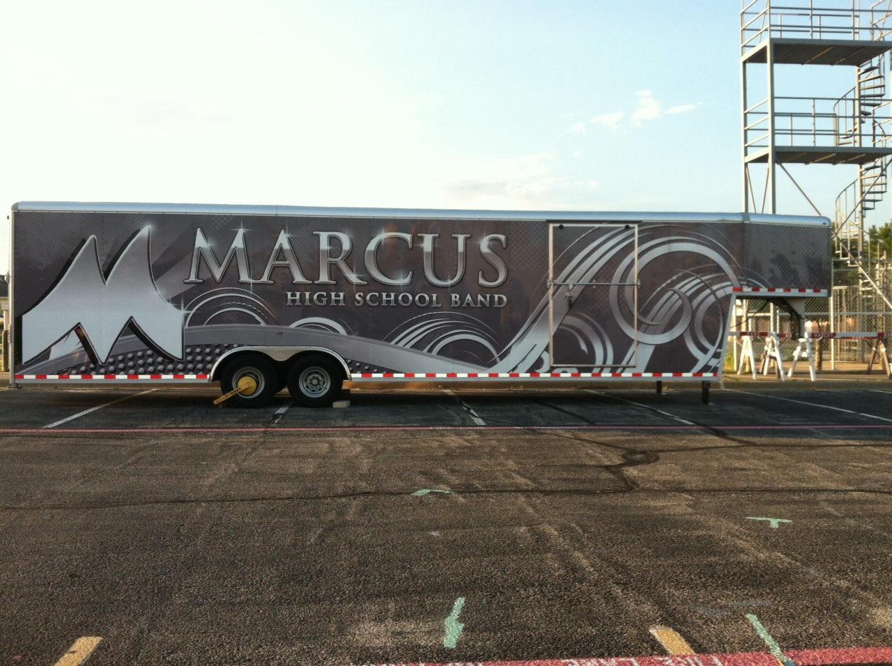 Marcus 40' Gooseneck trailer