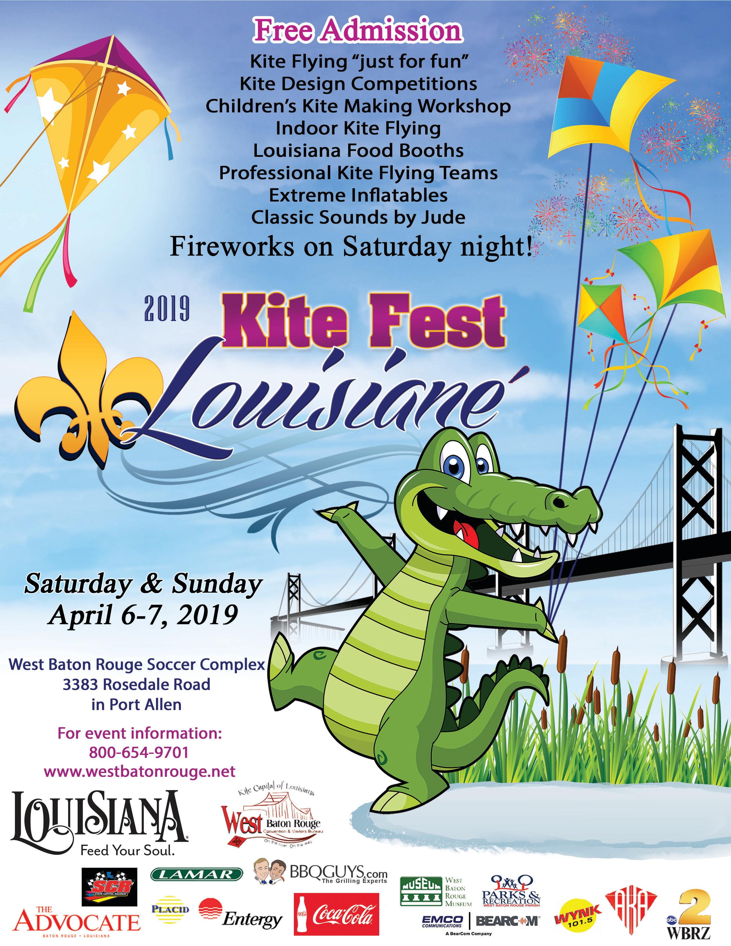 Kite Fest 2019 flyer
