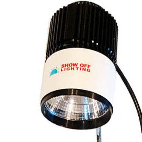EASY SETUP LED arm clamp lights for craft show lighting & trade show lighting
