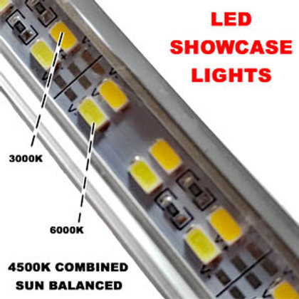Best LED showcase lighting kits for jewelry display cases