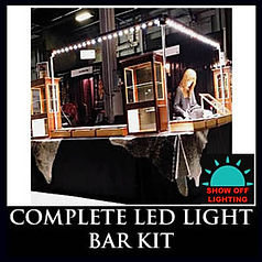 LED trade show lighting. A complete kit at a GREAT price!!