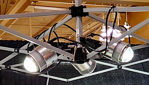 BEST LED Pipe & Drape Lighting