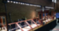 LED tradeshow lighting. LED trade show lighting that is perfect for jewelry display lighting and bead table lighting.
