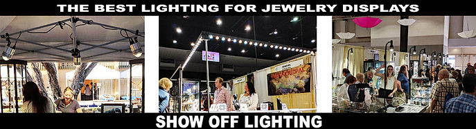 How to pick the best lighting for jewelry display