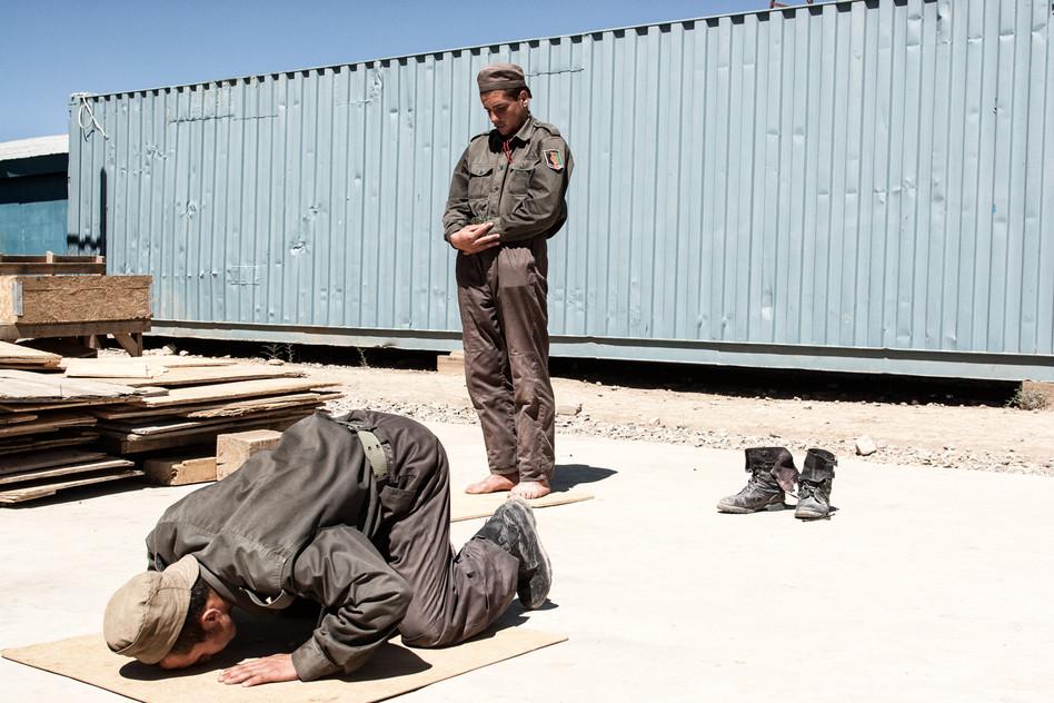 Afghan Police Training #023