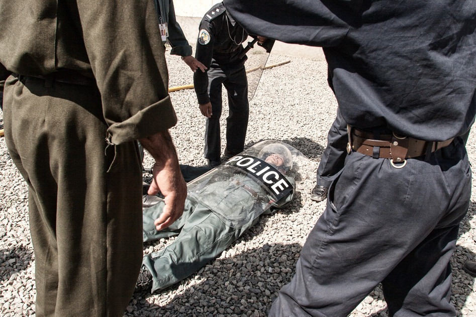 Afghan Police Training #017