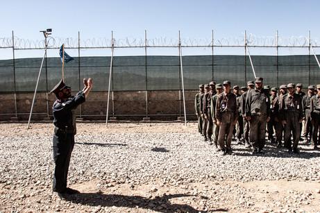 Afghan Police Training #028