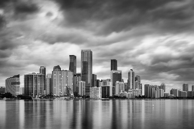 Downtown Miami Skyline - Limited Edition