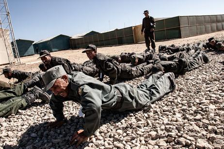 Afghan Police Training #027