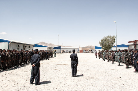 Afghan Police Training #009