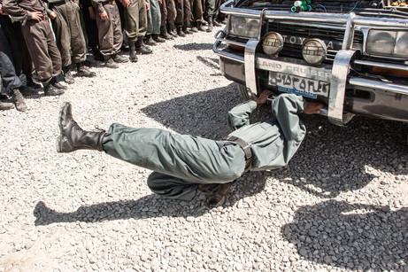 Afghan Police Training #008