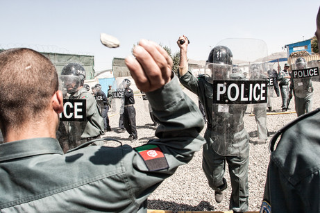 Afghan Police Training #021