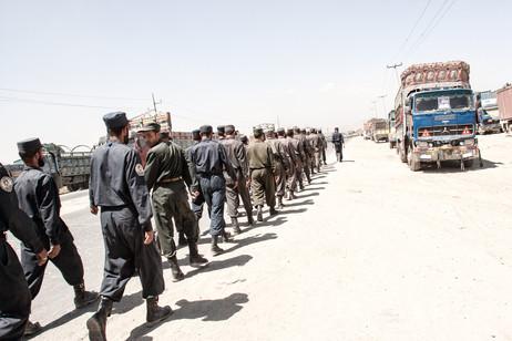 Afghan Police Training #001