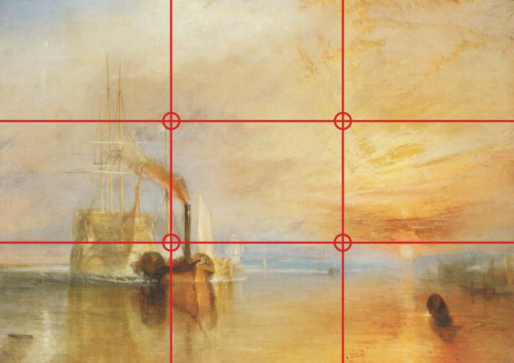 William Turner's 1838 painting The Fighting Temeraire