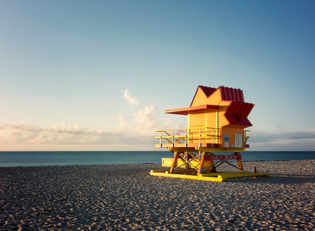 Miami Beach series in GQ Italia - July 2019