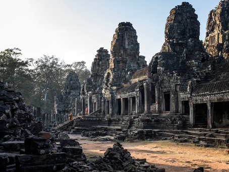 The monks of the Bayon