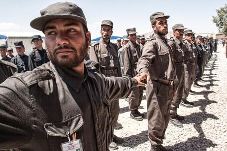 Afghan Police Training #010