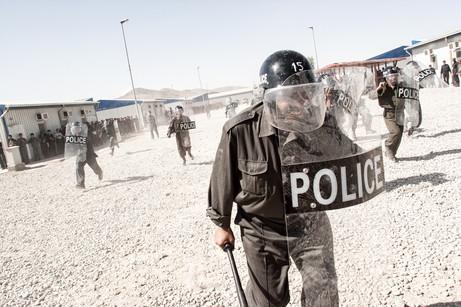 Afghan Police Training #002