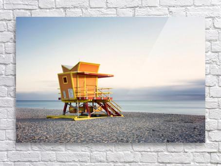 Miami Beach - 0280a - Acrylic Face Mount....