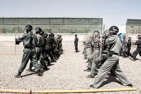 Afghan Police Training #014