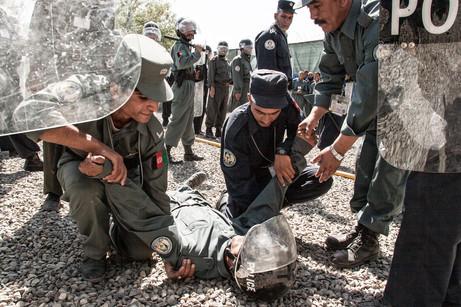 Afghan Police Training #016
