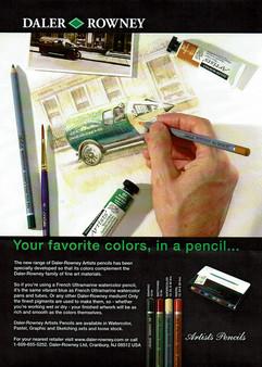 Advertisement for Art Magazine