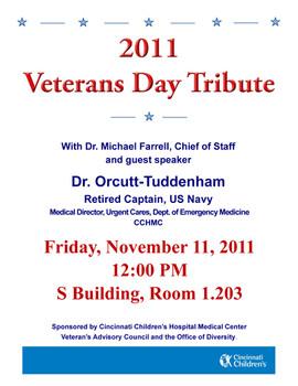 Veterans Day Flyer