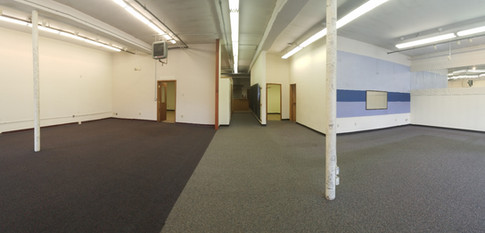 Wide open floorplan