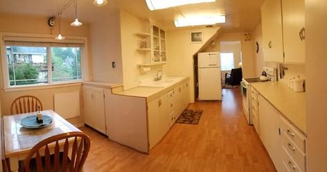 Sunny Kitchen & Dining Area