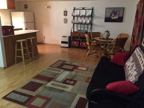 Living Room/ Breakfast Bar
