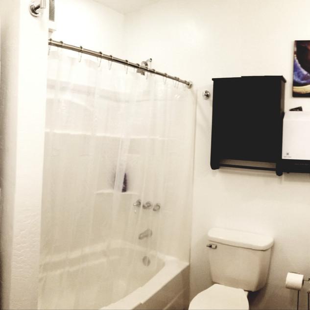 Bathroom with W/D