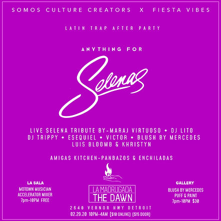 LATIN TRAP AFTER PARTY Selena-Recovered.
