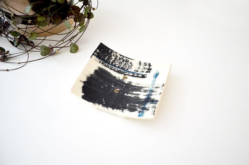 Ceramic Soap Dish with holes