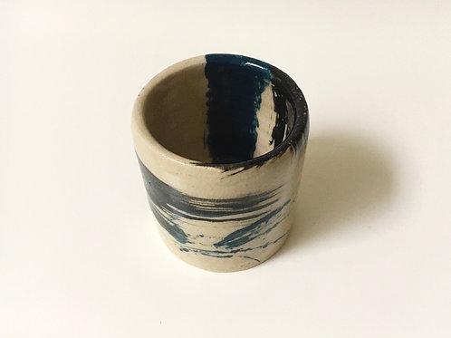 Small stoneware vessel
