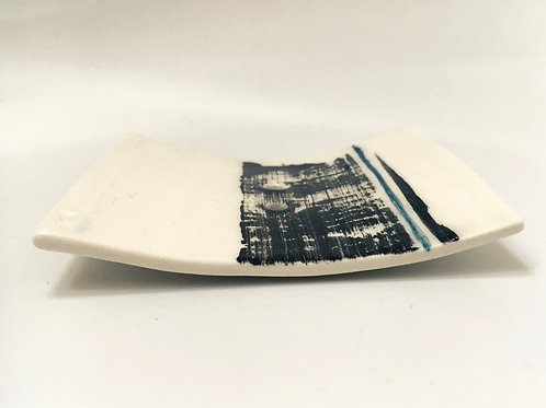 Porcelain Soap Dish with holes