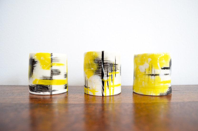 Mini Porcelain Vessels (Set of 3)