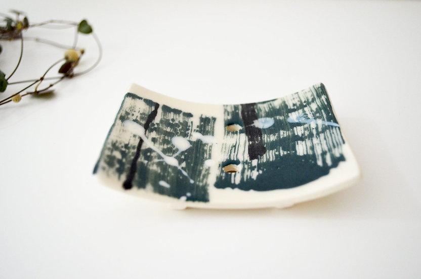 Mini Ceramic Soap Dish