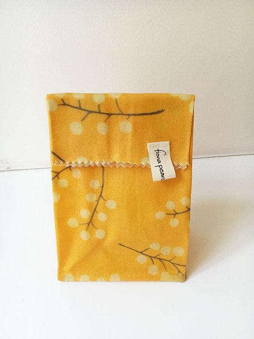 Small Waxed Bag - Golden Wattle