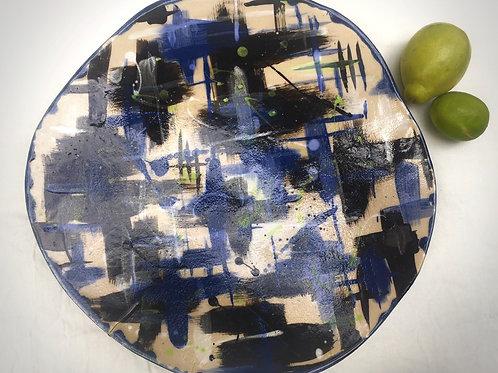 Extra Large stoneware platter