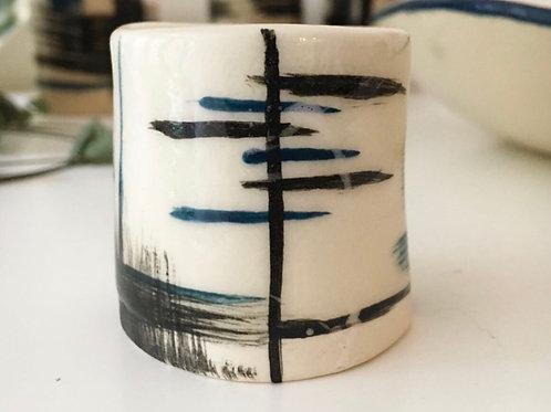 Small porcelain vessel
